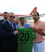 Denizlispor'dan Erdoğan'a forma