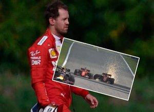 Formula 1'de şoke eden olay! İşte kaza anından görüntüler