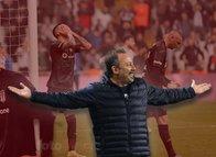Sergen Yalçın Vodafone Park'ta bunu yaptı! Beşiktaş maçının sonuna doğru...