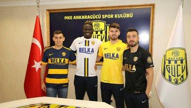 Transfer yasağı kalkan Ankaragücü 4 futbolcuyla sözleşme imzaladı