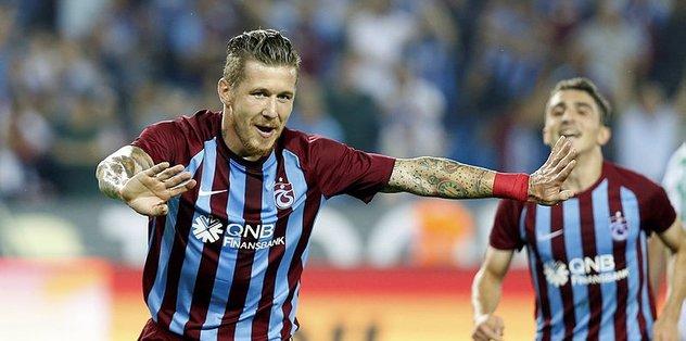 Trabzonsporlu futbolcu Kucka baba oldu