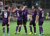 Fiorentina - Galatasaray maçından kareler...