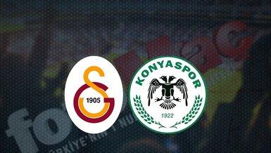 Galatasaray - Konyaspor maçı ne zaman? Galatasaray maçı hangi kanalda canlı yayınlanacak? Saat kaçta? | Süper Lig