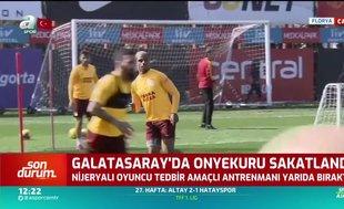 Galatasaray'da Henry Onyekuru idmana devam edemedi