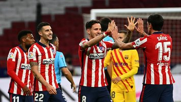 Atlético beats Barcelona in league for 1st time in a decade