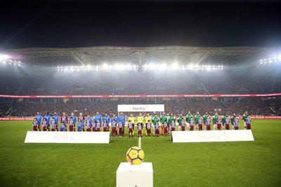 Trabzonspor-Bursaspor maçından kareler