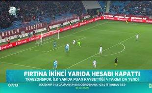 Trabzonspor ikinci yarıda rövanşı aldı