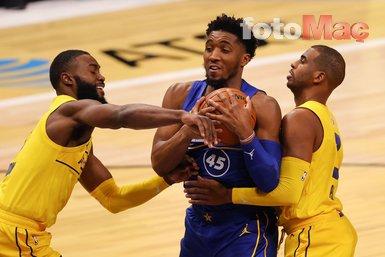 Son dakika spor haberi: NBA All-Star'da kazanan Team LeBron!