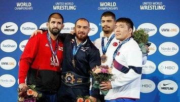 Taha Akgül ve Ferdi Eryılmaz bronz madalya kazandı