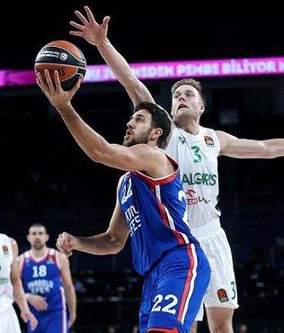 Anadolu Efes, Litvanya ekibi Zalgiris'e mağlup oldu