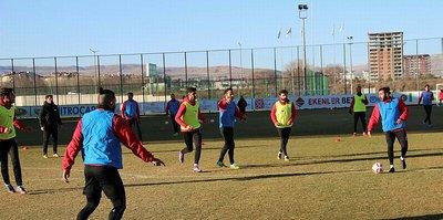 Sivas Belediyespor ikinci yarıya hazırlanıyor