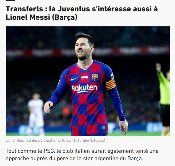 juventustan messi hamlesi babasiyla temasa gectiler 1598641018020 - Juventus'tan Messi hamlesi! Babasıyla temasa geçtiler