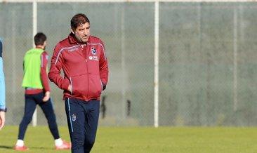 Trabzonspor Teknik Direktörü Ünal Karaman'dan tam gün mesai