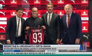 Beşiktaş'a Uruguaylı orta saha