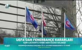 UEFA'dan Fenerbahçe kararı