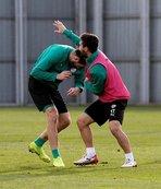 Bursaspor'da Atiker Konyaspor maçı hazırlıkları
