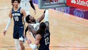 Kyrie Irving coştu! Brooklyn Nets kazandı