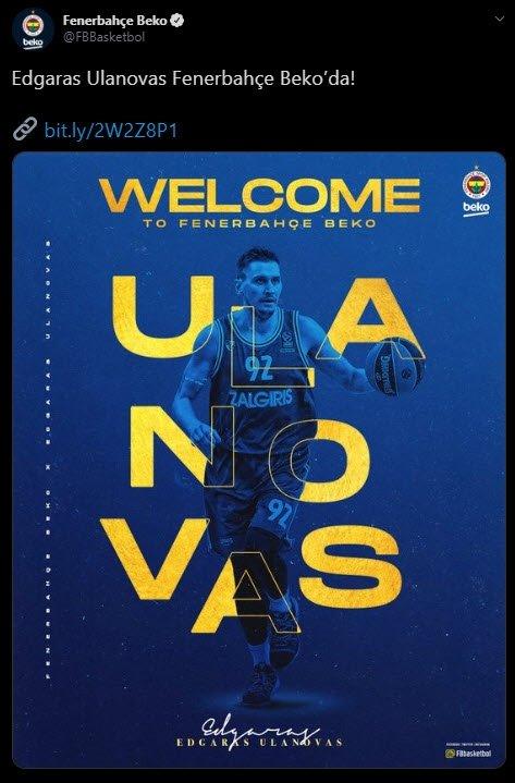 son dakika edgaras ulanovas fenerbahce bekoda 1594301087614 - Son dakika: Edgaras Ulanovas Fenerbahçe Beko'da!