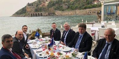 Türkiye - İsveç resmi maç yemeği düzenlendi