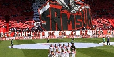 Samsunspor'a bugüne kadar 2 milyon 612 bin TL toplandı