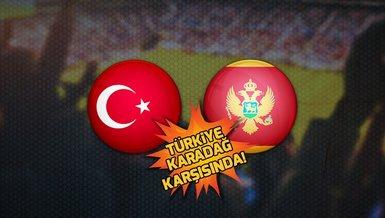 Türkiye Karadağ maçı ne zaman, saat kaçta ve hangi kanalda CANLI yayınlanacak? | A Milli Futbol Takımı