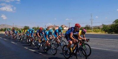 Kayseri'deki bisiklet yarışları tamamlandı