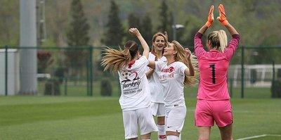 A Milli Kadın Futbol Takımı iddialı