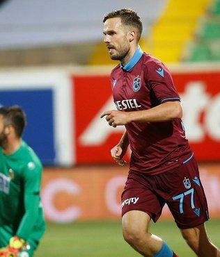 Filip Novak Trabzonspor'a veda etti!