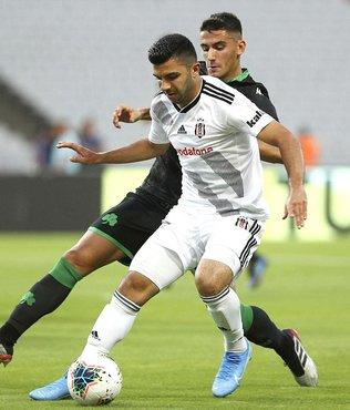 Beşiktaş'ta ayrılık! Sezon sonuna kadar kiralandı