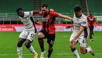 Milan Cagliari engelini geçemedi!