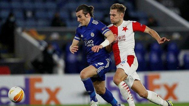 Leicester City - Slavia Prag: 0-2 (MAÇ SONUCU - ÖZET) #