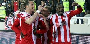 Sivasspor galibiyete şartlandı