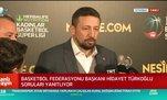 TBF Başkanı Hidayet Türkoğlu: Hataları azaltmak için çalışıyoruz