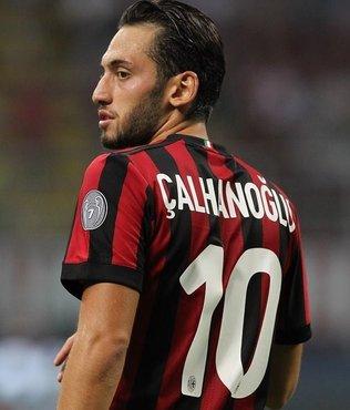 """İtalya'da gündem Hakan Çalhanoğlu! """"Milan'ın en iyisi"""""""