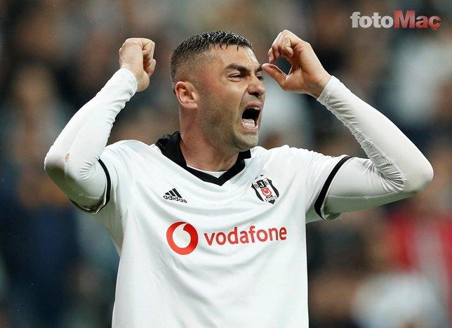 Beşiktaş'ta Burak Yılmaz'ın geleceği belli oldu!