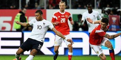 Fransa Dünya Kupası'na hazır: 3-1