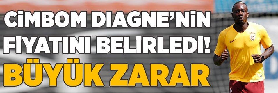 Galatasaray Diagne'nin fiyatını belirledi! Büyük zarar