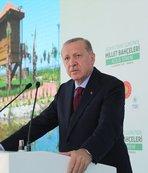 Dünya Çevre Günü'nde 10 millet bahçesi açıldı! Başkan Recep Tayyip Erdoğan açılışı yaptı!