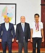 Engelli sporcu 4 madalya ile döndü
