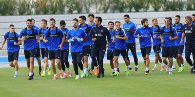 Trabzonspor'da Göztepe maçı hazırlıkları başladı