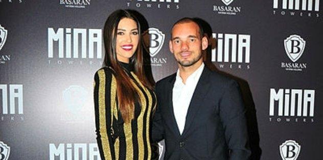 Şok iddia! Yolanthe Cabau, Sneijder'i aldattı mı?