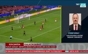 """Galatasaray'dan kura için ilk yorum: """"İyi kura çektik"""""""
