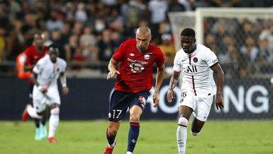 Fransızlar Lille PSG maçında Burak Yılmaz'ı maçın adamı seçti!