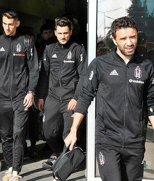 Beşiktaş kupa maçı için İzmir'de