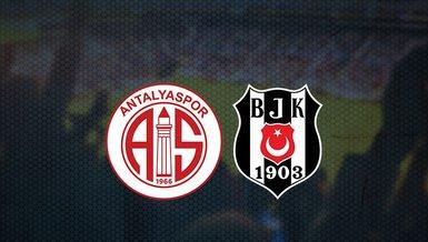Antalyaspor - Beşiktaş maçı ne zaman? Saat kaçta ve hangi kanalda canlı yayınlanacak? | Süper Lig