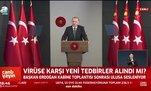 Başkan Erdoğan yeni sokağa çıkma yasağını açıkladı!