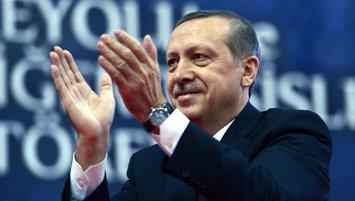 Başkan Erdoğan'dan Filenin Efeleri'ne tebrik