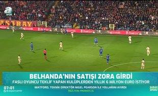 Galatasaray'da Belhanda sorunu sürüyor!