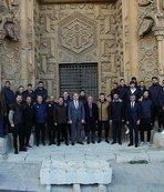 Sivassporlu futbolcular ''Anadolu'nun Elhamrası''nı gezdi