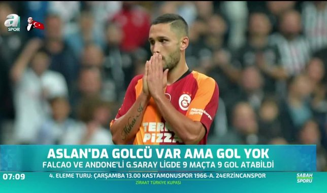 Galatasaray'da golcü var ama gol yok